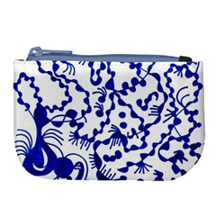 Dna Square  Stairway Large Coin Purse
