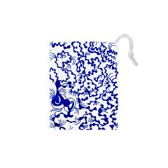 Dna Square  Stairway Drawstring Pouches (xs)