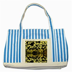 Dna Diluted Striped Blue Tote Bag