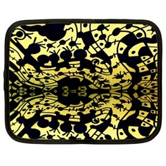 Dna Diluted Netbook Case (large)