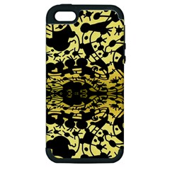 Dna Diluted Apple Iphone 5 Hardshell Case (pc+silicone)