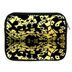 Dna Diluted Apple Ipad 2/3/4 Zipper Cases