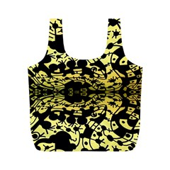 Dna Diluted Full Print Recycle Bags (m)