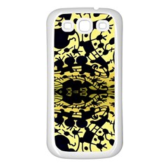 Dna Mirroir Samsung Galaxy S3 Back Case (white) by MRTACPANS