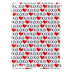Xoxo Valentines Day Pattern Apple Ipad 3/4 Hardshell Case (compatible With Smart Cover) by Valentinaart