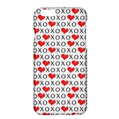Xoxo Valentines Day Pattern Apple Iphone 6 Plus/6s Plus Hardshell Case by Valentinaart