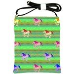 Rainbow Ponies Shoulder Sling Bags