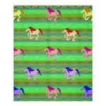 Rainbow Ponies Shower Curtain 60  x 72  (Medium)