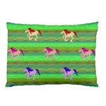 Rainbow Ponies Pillow Case (Two Sides)