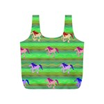 Rainbow Ponies Full Print Recycle Bags (S)