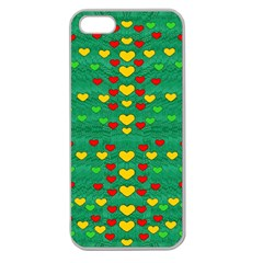 Love Is In All Of Us To Give And Show Apple Seamless Iphone 5 Case (clear)