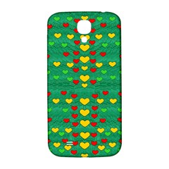 Love Is In All Of Us To Give And Show Samsung Galaxy S4 I9500/i9505  Hardshell Back Case by pepitasart