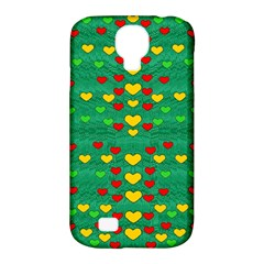 Love Is In All Of Us To Give And Show Samsung Galaxy S4 Classic Hardshell Case (pc+silicone) by pepitasart