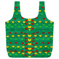 Love Is In All Of Us To Give And Show Full Print Recycle Bags (l)  by pepitasart