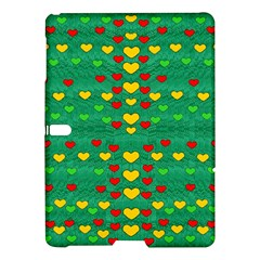 Love Is In All Of Us To Give And Show Samsung Galaxy Tab S (10 5 ) Hardshell Case  by pepitasart