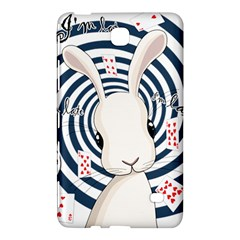 White Rabbit In Wonderland Samsung Galaxy Tab 4 (8 ) Hardshell Case  by Valentinaart