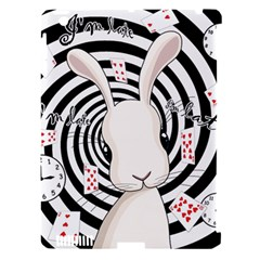 White Rabbit In Wonderland Apple Ipad 3/4 Hardshell Case (compatible With Smart Cover) by Valentinaart