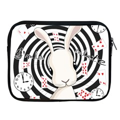 White Rabbit In Wonderland Apple Ipad 2/3/4 Zipper Cases by Valentinaart