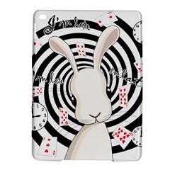 White Rabbit In Wonderland Ipad Air 2 Hardshell Cases by Valentinaart