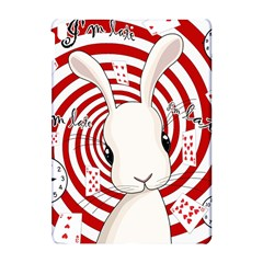 White Rabbit In Wonderland Apple Ipad Pro 10 5   Hardshell Case by Valentinaart
