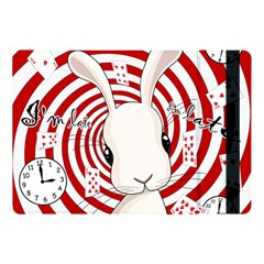 White Rabbit In Wonderland Apple Ipad Pro 10 5   Flip Case by Valentinaart