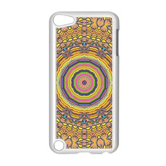 Wood Festive Rainbow Mandala Apple Ipod Touch 5 Case (white) by pepitasart