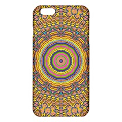 Wood Festive Rainbow Mandala Iphone 6 Plus/6s Plus Tpu Case by pepitasart