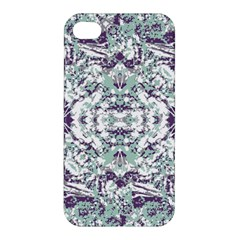 Modern Collage Pattern Mosaic Apple Iphone 4/4s Premium Hardshell Case by dflcprints