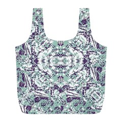 Modern Collage Pattern Mosaic Full Print Recycle Bags (l)  by dflcprints