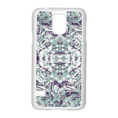 Modern Collage Pattern Mosaic Samsung Galaxy S5 Case (white) by dflcprints
