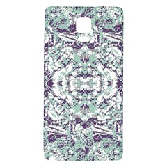 Modern Collage Pattern Mosaic Galaxy Note 4 Back Case by dflcprints