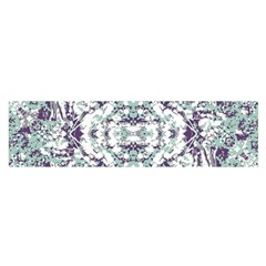 Modern Collage Pattern Mosaic Satin Scarf (oblong) by dflcprints