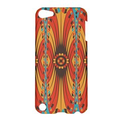 Geometric Extravaganza Pattern Apple Ipod Touch 5 Hardshell Case by linceazul
