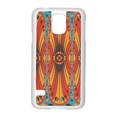 Geometric Extravaganza Pattern Samsung Galaxy S5 Case (white) by linceazul