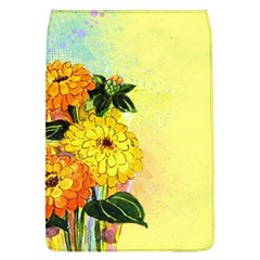 Background Flowers Yellow Bright Flap Covers (l)