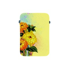 Background Flowers Yellow Bright Apple Ipad Mini Protective Soft Cases