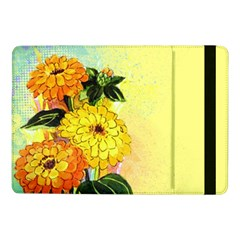 Background Flowers Yellow Bright Samsung Galaxy Tab Pro 10 1  Flip Case