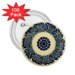 Background Vintage Japanese 2 25  Buttons (100 Pack)