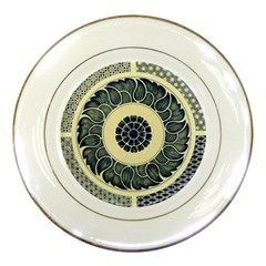 Background Vintage Japanese Porcelain Plates