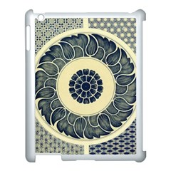 Background Vintage Japanese Apple Ipad 3/4 Case (white)