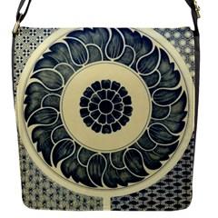 Background Vintage Japanese Flap Messenger Bag (s)