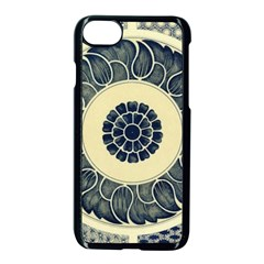 Background Vintage Japanese Apple Iphone 7 Seamless Case (black)