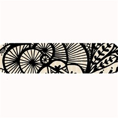 Background Abstract Beige Black Large Bar Mats