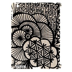 Background Abstract Beige Black Apple Ipad 3/4 Hardshell Case (compatible With Smart Cover)