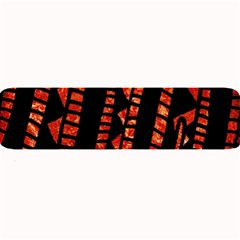 Background Abstract Red Black Large Bar Mats