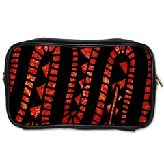 Background Abstract Red Black Toiletries Bags 2 Side by Nexatart