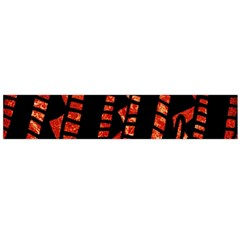 Background Abstract Red Black Large Flano Scarf