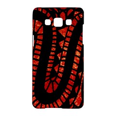 Background Abstract Red Black Samsung Galaxy A5 Hardshell Case