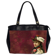 Vintage Edwardian Scrapbook Office Handbags (2 Sides)