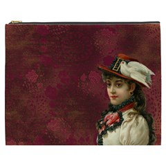 Vintage Edwardian Scrapbook Cosmetic Bag (xxxl)